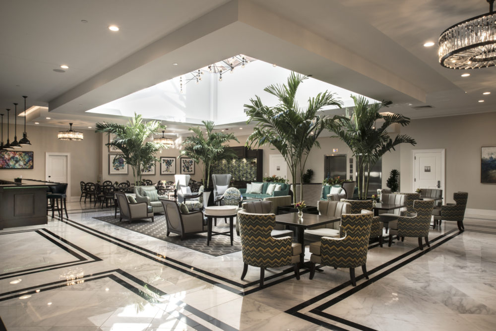 Lobby and Lounge